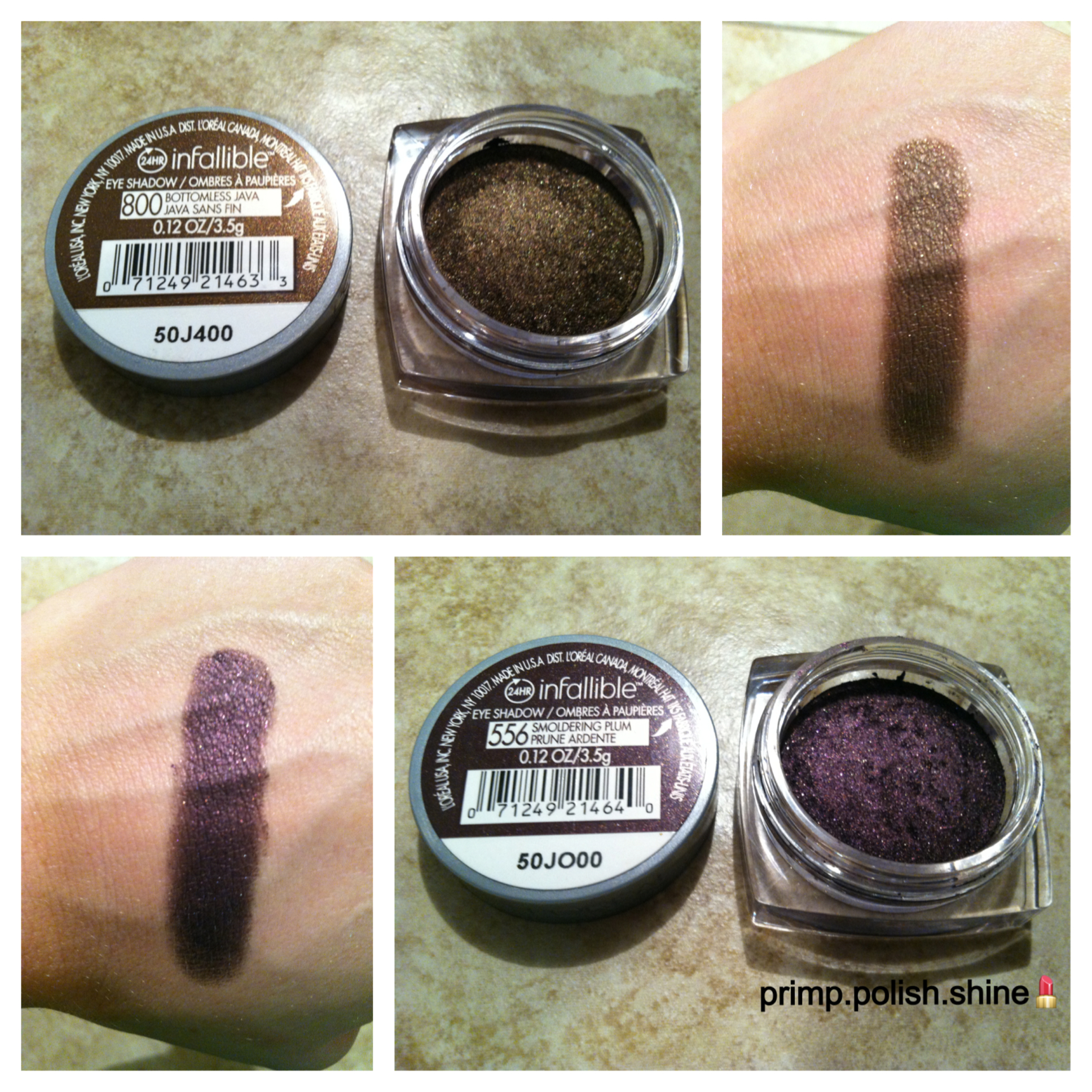 Favorite Drugstore Eyeshadows Part 1 Loreal Infallible 24 Hour